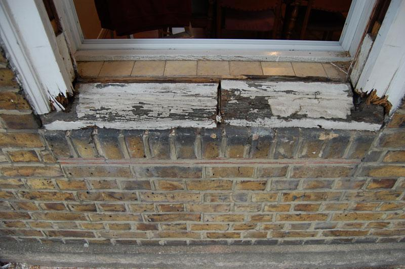 Wood window sill replacement sash window repairs for Window sill replacement